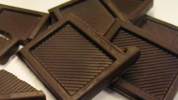 Dark chocolate with cocoa levels over 70 per cent contains flavonoids, which are thought to help reduce inflammation