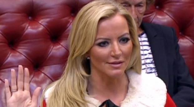 The DWP said it had no records of car trips made by Lady Mone