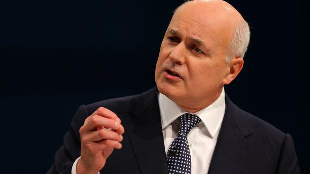 Work and Pensions Secretary Iain Duncan Smith had been at loggerheads with Chancellor George Osborne over welfare cuts