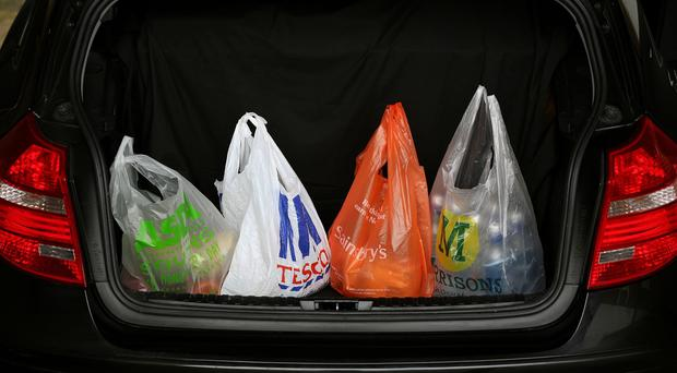 The major supermarkets have suffered their biggest sales dip for more than a year, while Aldi and Lidl now control a 10th of Britain's grocery market, according to new research