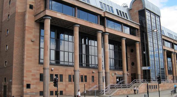 The couple are on trial at Newcastle Crown Court