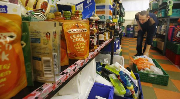 Delays and changes to benefits are the main reason people visited foodbanks, the Trussell Trust has said