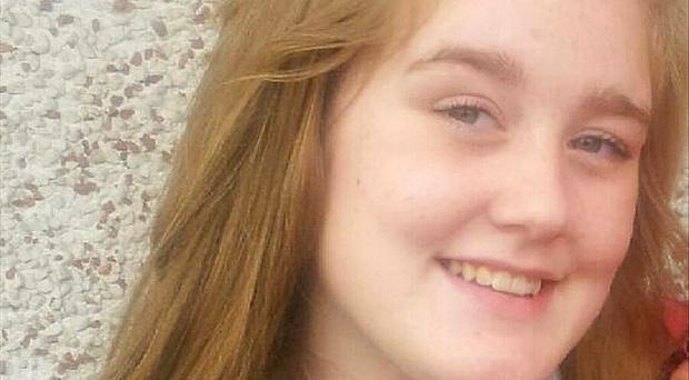 Kayleigh Haywood, 15, from Measham, Leicestershire, was last seen by her parents when she was dropped off outside her former school in Ibstock on Friday
