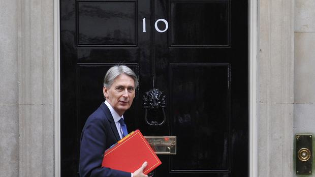 Philip Hammond is visiting Albania