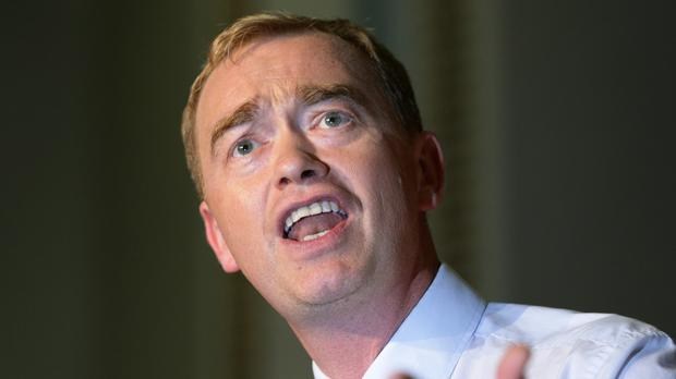 Liberal Democrat leader Tim Farron says his party will continue to fight the Government's cuts to tax credits