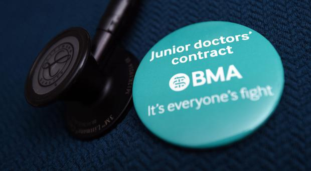The BMA sent ballot papers to more than 30,000 of its members