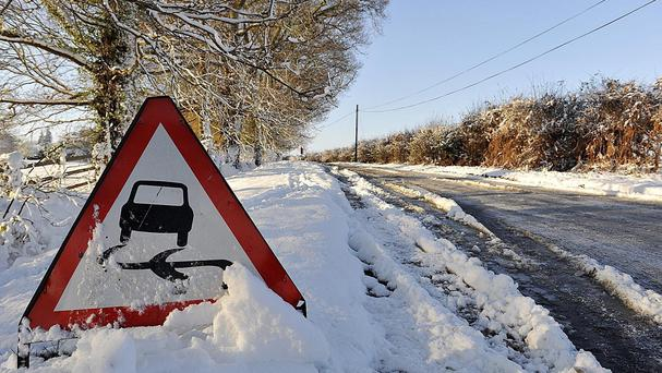 Forecasters are warning of snow and hazardous driving conditions