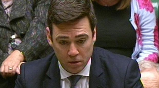 Shadow Home Secretary Andy Burnham has issued a fresh warning against imposing swingeing cuts on police forces