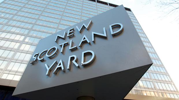 Scotland Yard has apologised