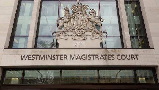 The men faced an extradition hearing at Westminster Magistrates' Court