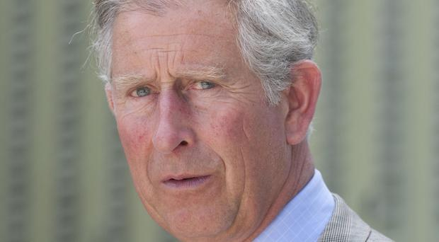 Charles believes there are links between climate change and terrorism