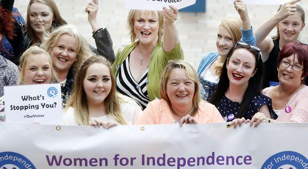 Women for Independence played a leading role in last year's referendum on Scottish independence