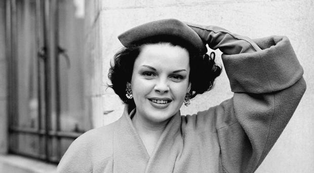 The dress was worn by Judy Garland in the evergreen movie classic