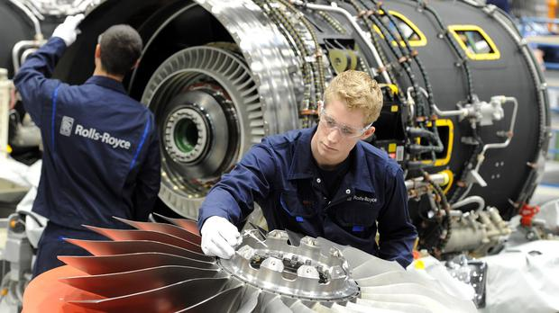 Engine-maker Rolls-Royce is planning to slash costs by up to £200 million a year in a bid to revive its fortunes (Rolls-Royce/PA Wire)