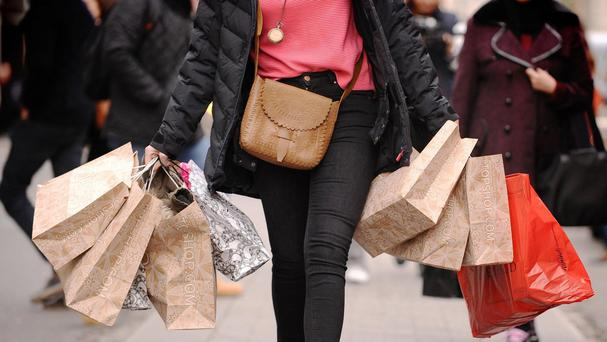 The CBI said 38% of retail firms had seen an increase in sales compared to the same period a year ago, while 31% had seen a drop-off