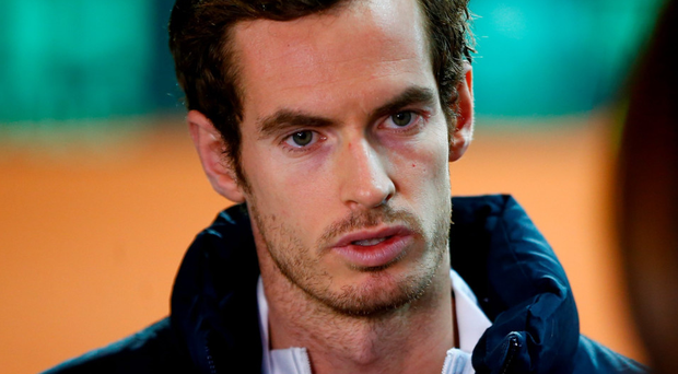 Historic tie: Andy Murray