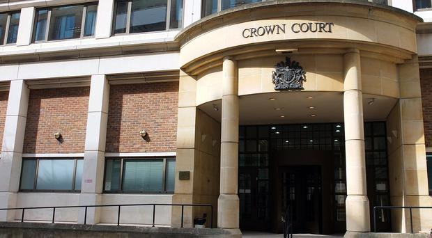Her Majesty's Courts and Tribunal Service said 217 incidents of 'aggressive contact/assault' were recorded in court and tribunal buildings last year