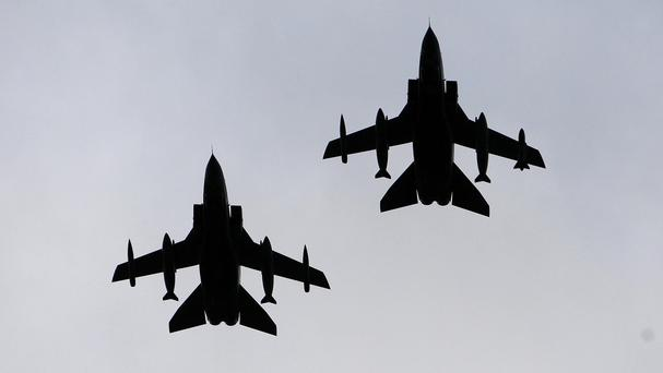 Experts have warned that the skies over Syria and Turkey are very crowded