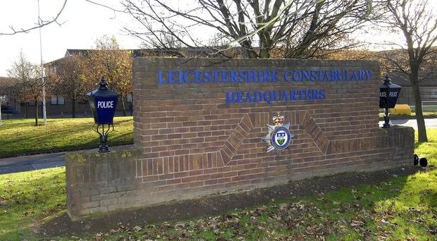 Leicestershire Police urged anyone with information about the incident to contact them