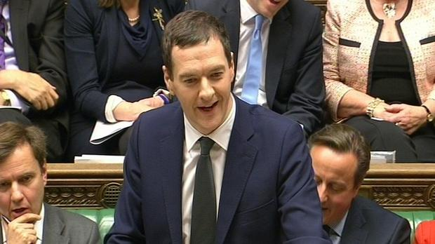 George Osborne delivers his joint Autumn Statement and Spending Review in the House of Commons