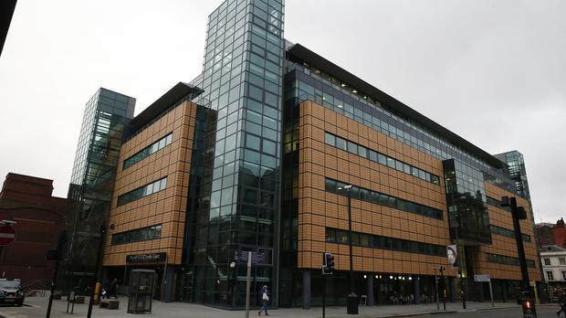The hearing takes place at Liverpool Civil and Family Courts
