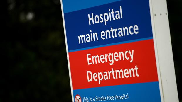 Over the last seven weeks 88% of A&E patients were seen within four hours - below the 95% target, figures show