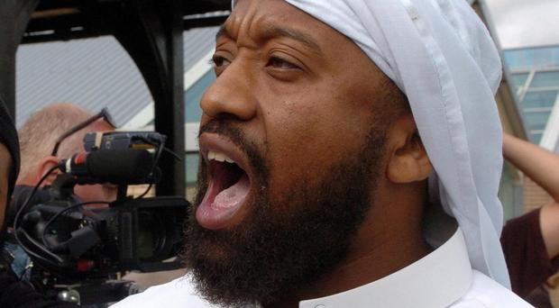 Trevor Brooks - also known as radical preacher Abu Izzadeen - one of two Britons convicted of terror offences and detained in Hungary nearly two weeks ago who have been handed over to UK authorities.