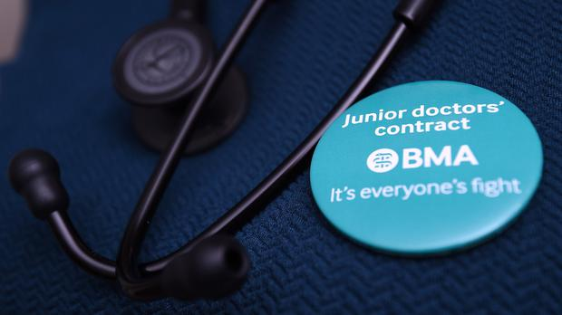 Junior doctors are poised to take strike action over three days from next week