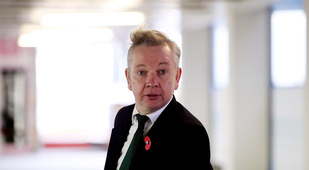 Justice Secretary Michael Gove, pictured, will make a decision on whether Yorkshire Ripper Peter Sutcliffe will be returned to prison from Broadmoor psychiatric hospital