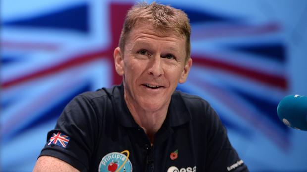 British astronaut Tim Peake is due to spend an extra month in space