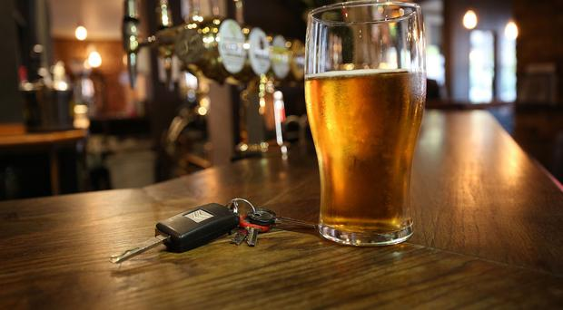 Organisers said the message is simple: if you are driving, don't drink