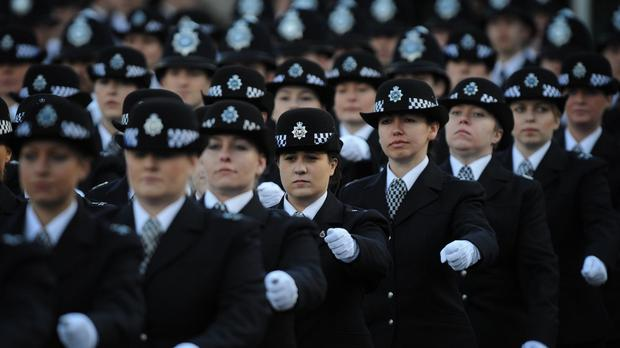 Police forces must boost their ranks of female officers as they tackle the changing face of crime, Theresa May will say