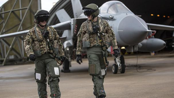 Tornado GR4 fighter jets will be in action over Syria