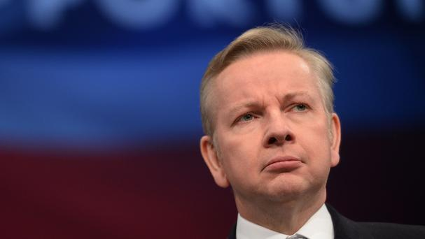 Justice Secretary Michael Gove says the criminal courts charge will be abolished from December 24