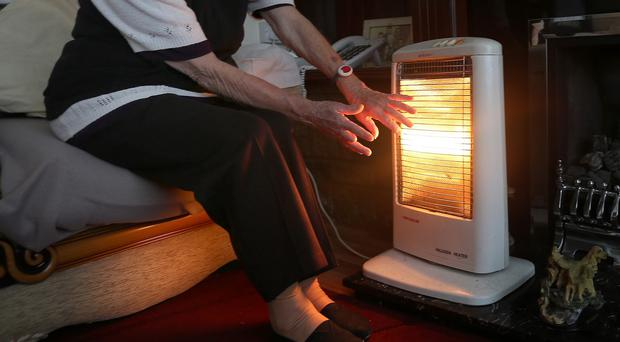 Some 36% of elderly people polled said they do not heat their home adequately in winter because of concerns about food bills
