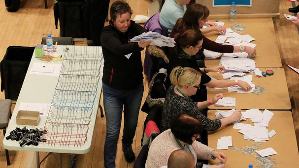 Counting begins in the Oldham West and Royton by-election