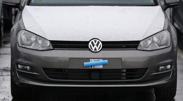 The drop in sales comes after Volkswagen admitted that it fitted sophisticated software to cheat diesel emissions tests