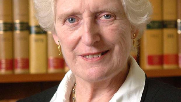Baroness Butler-Sloss said issues such as the Paris terrorist attacks and the banning of a Church of England advert in cinemas showed religious beliefs are still central to society