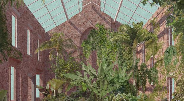 Granby Four Streets 2014 - Greenhouse view view by Assemble, which has won the 31st Turner Prize (Tate Britain)