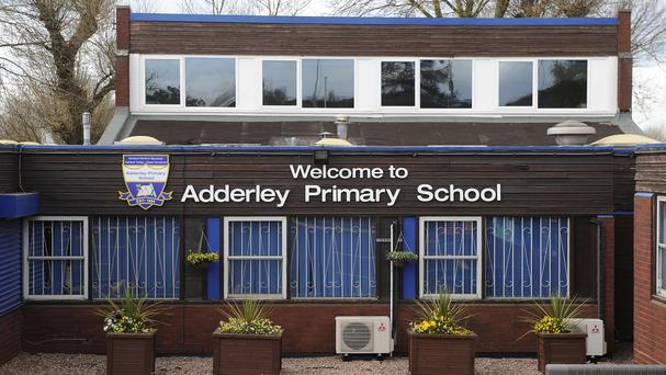 Adderley school was mentioned in the four-page