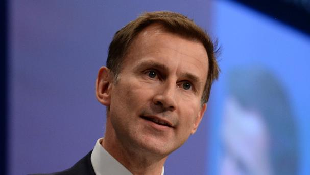 Jeremy Hunt said the last year has been