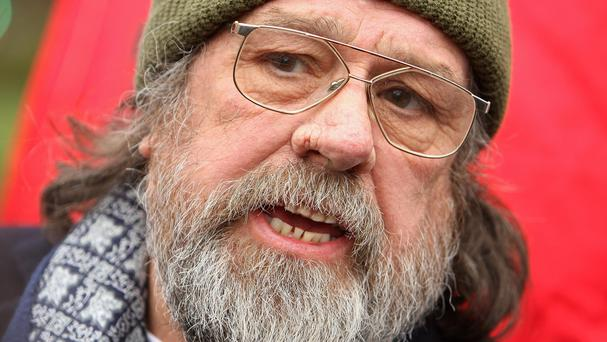 Ricky Tomlinson who acted alongside Caroline Aherne in the Royal Family