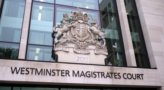 The four men will appear at Westminster Magistrates' Court