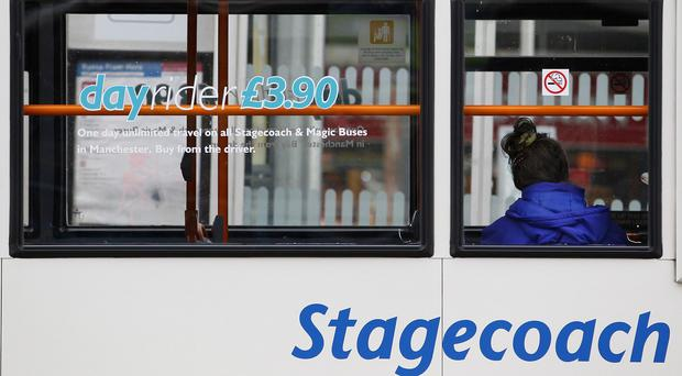 Stagecoach said discretionary travel in the UK had also been hit