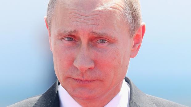 Vladimir Putin discussed recent cruise missiles strikes into Syria during a meeting at the Kremlin