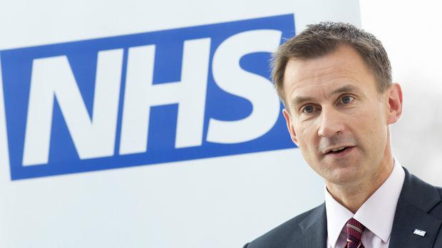 Jeremy Hunt spoke out after a trust was found not to have investigated deaths
