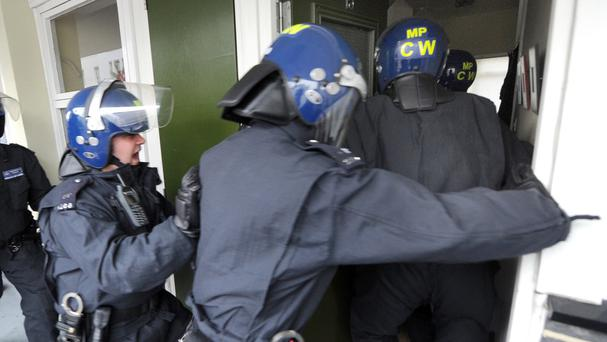 A total of 289 people were detained on suspicion of terrorism offences last year, with 102 going on to be charged