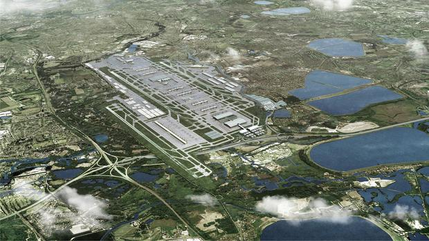 A third runway has been recommended to be built at Heathrow Airport
