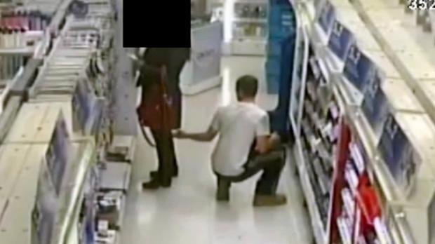 Police would like to trace a man following an allegation of voyeurism in Colliers Wood, S London (Metropolitan Police/PA)