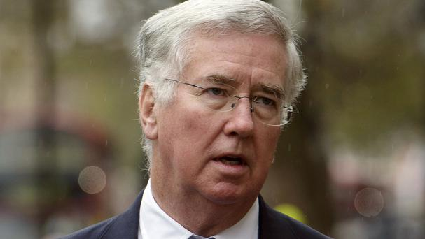 Defence Secretary Michael Fallon was speaking at a press conference at the Pentagon